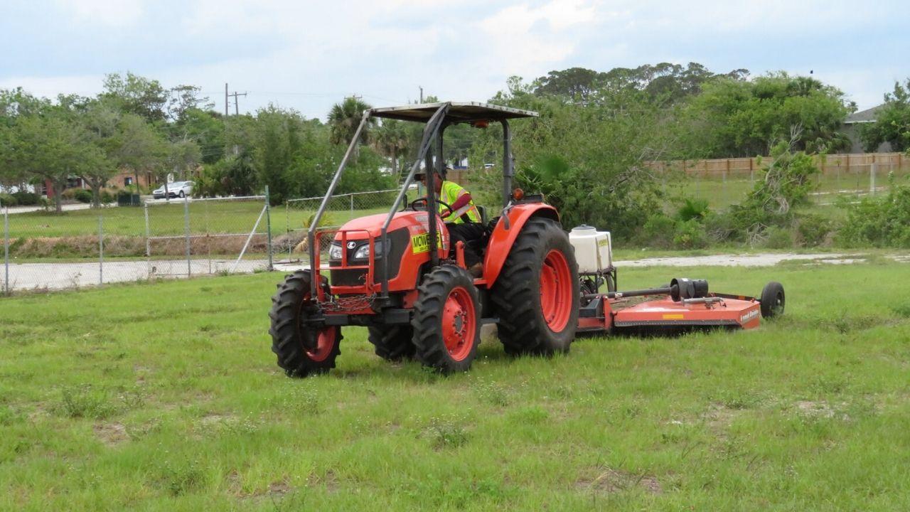 Tractor Mowing Jacksonville